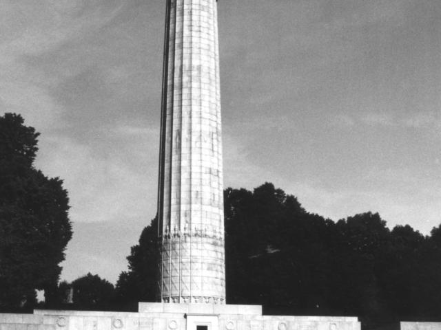 The A.E.F. monument atop Montfaucon (author)